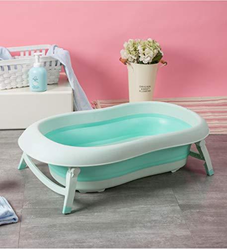 vaschetta bagnetto gonfiabile,Vasca da bagno pieghevole, il neonato può sedersi nella vasca da bagno, nuotare con @blue_Single_basin