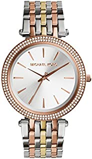 Michael Kors Darci Women's Silver Dial Stainless Steel Band Watch - MK