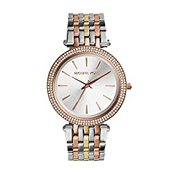 Michael Kors Analog Silver Dial Womens Watch - MK3203