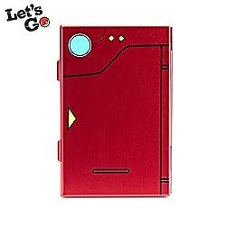 FUNLAB Prämie Game Card Case für Nintendo Switch, tragbar und dünn, Aluminium Schutzhülle Aufbewahrungsbox Spiele Tasche für 6 Spiele --Rot