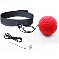 Eyewalk Boxing Reflex Ball Training Hand Eye Coordination with Headband, Portable Boxing Punch Ball to Improve Reaction and Speed for Training and Fitness
