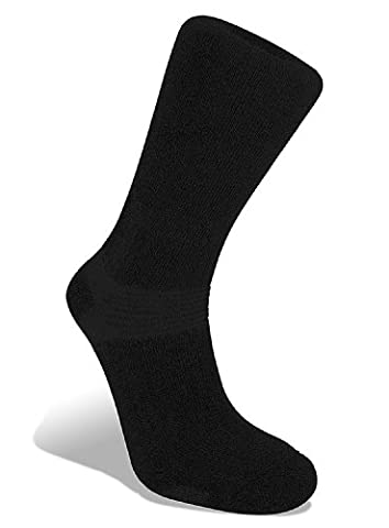 Bridgedale Essential Kit Trekker Men's Sock - Black, 6-8.5
