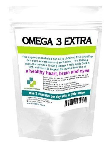 Huile De Poisson Omega 3 1000 mg (22% DHA/33% EPA) 90 x Gélule