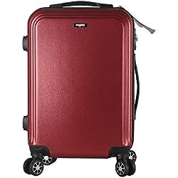 Eforink Maleta de Cabina Rígida, Equipaje de Mano, 52cm , 36 Litros, 20´´, Rojo, Candado TSA , 4 Ruedas multidireccional