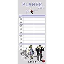 Loriot Planer für zwei - Kalender 2018