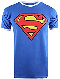 DC Comics Men's Superman Logo Short Sleeve T-Shirt