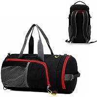 Duffel Bag Waterproof, UBaymax Lightweight Foldable Sports Duffel Gym Bag, Holdall Cross Body Shoulder Backpack 3 in 1 Hybrid Duffel Handbag Travel Hiking Camping Luggage Bag for Men and Women