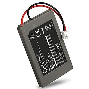 CELLONIC® Qualitäts Akku kompatibel mit Sony Playstation 3 Controller, PS3 Dualshock (CECHZC2E) – LIP1359 (570mAh) Ersatzakku Batterie