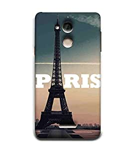 For Coolpad Note 5 beautiful tower ( beautiful tower, tower, blue background ) Printed Designer Back Case Cover By CHAPLOOS