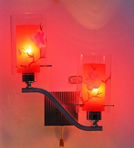 YFF@ILU Verkauf mit Preisnachlass Zeitgenössisches Glas Wand Lampe Lampe C Gang - Zeitgenössische-glas-wand
