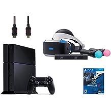 PlayStation VR Start Bundle 5 Items:VR Headset,Move Controller,PlayStation Camera Motion Sensor,PlayStation 4,VR Game Disc:PSVR DriveClub(Version US, Importée)