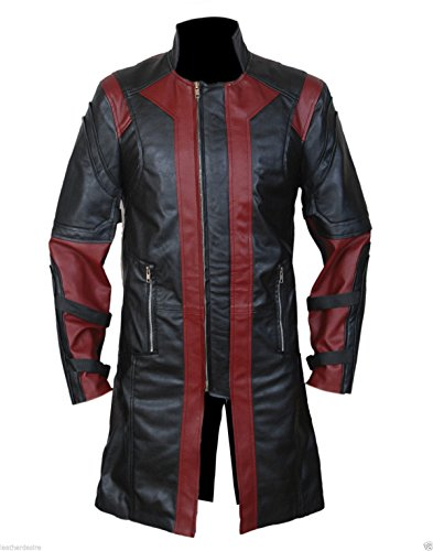 leatherly-manteau-homme-hawkeye-avengers-jeremy-renners-faux-synthetique-cuir-manteau-l