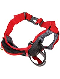 Tradico® Sport Zip Fanny Pack Waist Bum Bag Fitness Running Jogging Belt Pouch Orange