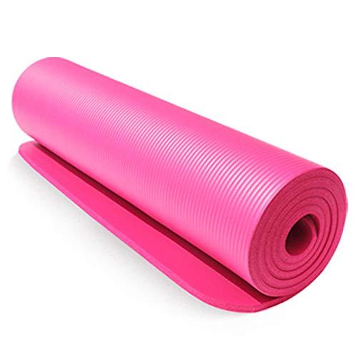 SailorMJY Yogamatte Isomatte Gymnastikmatte Fitnessmatte Sportmatte, NBR-multifunktionssport-eignungs-rutschfeste Yoga-Auflage, 10mm Ausgedehnte Verbreiterung