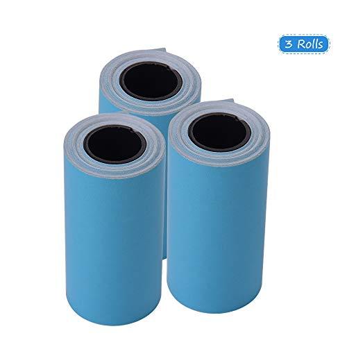 Aibecy Imprimible Etiqueta color Papel rollo