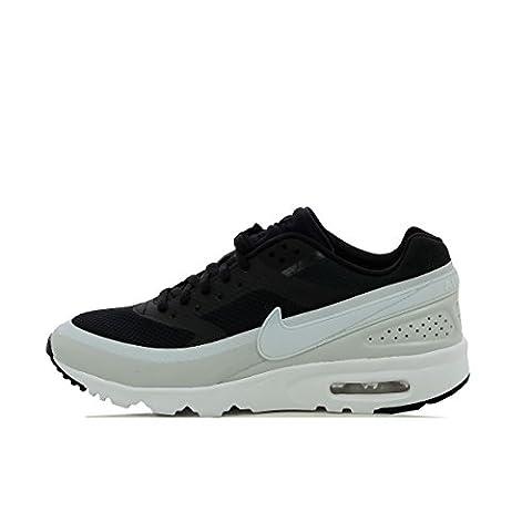 Nike W Air Max BW Ultra, Chaussures de Sport Femme, Noir (Noir / Platine Pur-Blanc-Noir), 40 EU