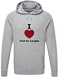 The Grand Coaster Company Love Just For Laughs Lightweight Hooded Sweatshirt