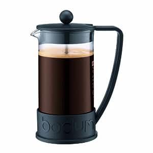 Bodum BRAZIL French Press Coffee Maker, 1 L - Black