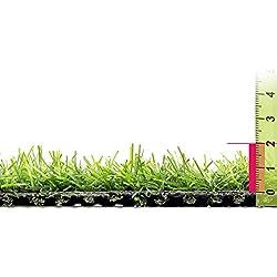 Ldk Garden Lola Derek - Césped artificial normal para terraza, 400 x 50 x 20 cm, color verde