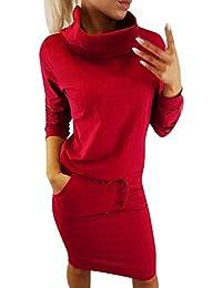 d54498831a6c Amazon.it  Vestito Pizzo Nero Zara - Vestiti   Donna  Abbigliamento