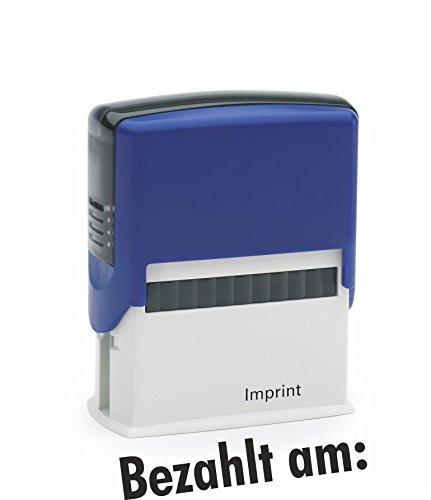 Lagerstempel / Selbstfärber Bezahlt am: von Kaufhaus2010