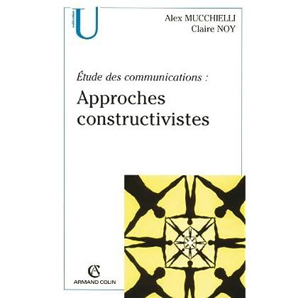 Étude des communications : approches constructivistes