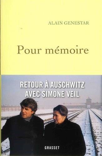 Pour mémoire par Alain Genestar