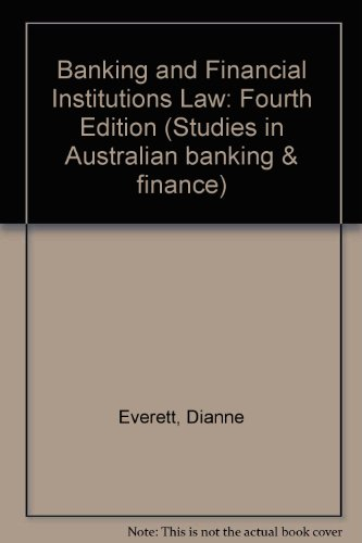 banking-and-financial-institutions-law-fourth-edition