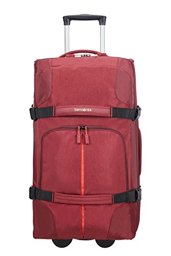 Samsonite Rewind Wheeled Duffle, 68 cm, 72.5 Liter, Granita Red (Rosso)