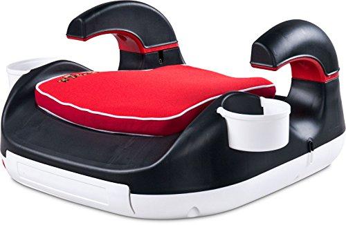 Caretero Tiger Booster Kinderautositz, Sitzerhöhung, Gruppe 2-3, 15-36 kg, rot