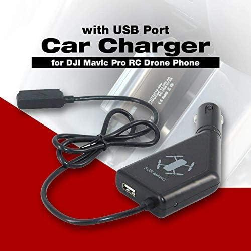 Jasnyfall Chargeur de Batterie Rapide avec Port USB Sécurité pour téléphone Drone DJI Mavic Pro | Offre Spéciale