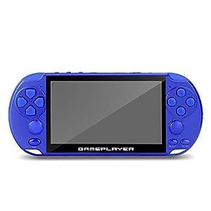 GAME Maple Mode-Handspielkonsole X9PSP Dual Rocker Handspielkonsole 5,1-Zoll-Großbildschirm, 1 W 64-Bit GBANESFC Arcade Kinderspielkonsole