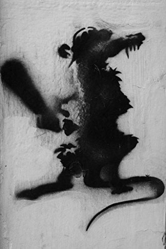 College-wohnheim-poster (Banksy Ratte mit Baseballschläger Poster 30x 46cm)