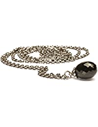Collana Fantasia Trollbeads in Argento 925 con Onice varie misure
