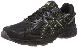 calzado: Asics Gel-Venture 6, Zapatillas de Entrenamiento para Hombre, Negro (Black/Neon ...