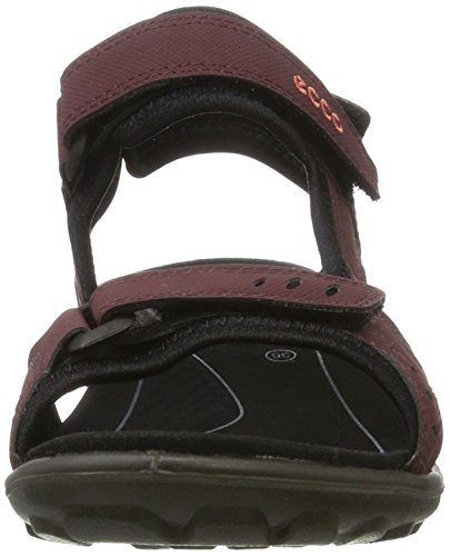 Ecco All Terrain Lite, Chaussures Multisport Outdoor Femme Rot (70BORDEAUX)