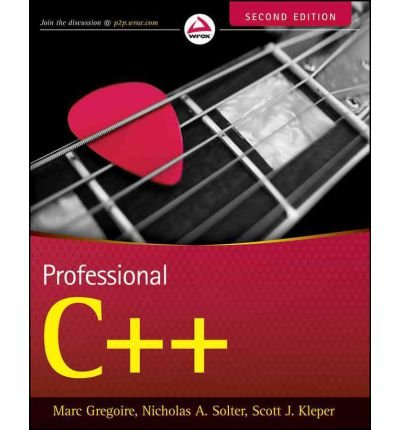 [(Professional C++)] [by: Marc Gregoire]