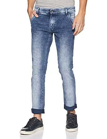 United Colors of Benetton Men's Casual Trousers (8903975318588_17P4L23R1010I_30W x 30L_Blue)