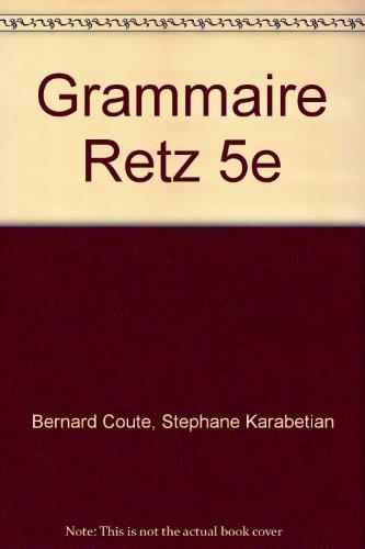 Grammaire Retz 5e