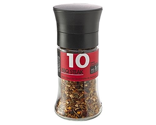 41x8Oob1kRL - GRILLFREUND BBQ Geschenk für Männer - Geschenkkorb inklusive Handmade Honig Senf Sauce und Grillgewürze - Grill Zubehör – Grill Gewürze Set