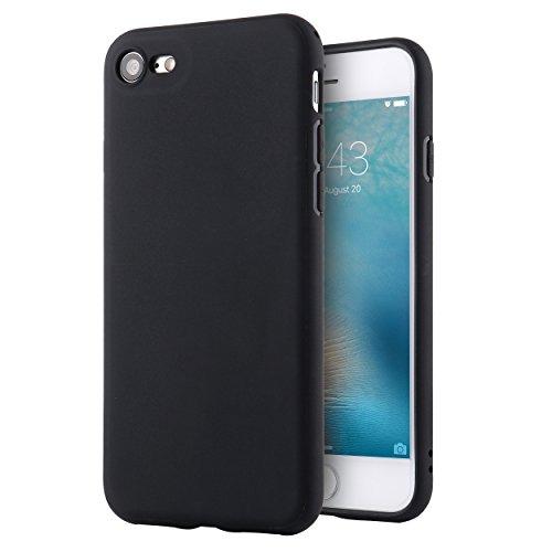Apple iPhone 8 Hülle Liamoo® (4,7 Zoll) TPU Schutzhülle in blau schwarz