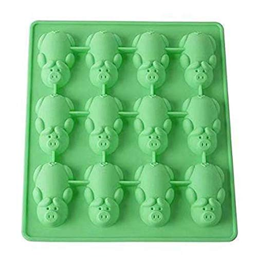Delidraw Silicone Cute Piggy Shaped Chocolate Cake Mold DIY Handmade Cookies Bread Molds Jello Cookies