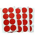 50mm Ø Sticky Pads – Doppelseitiges Klebeband Flächen KREISE – Acryl 1mm Dick – Extra Stark Haftend – Doppel-Seitig TRANSPARENT & Wiederlösbar – Montage Bau Werkstatt Wohnung – 16 o. 32 Stück (16)