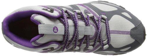 Merrell Grassbow Sport Mid Gtx, Chaussures de randonnée tige basse femme Gris - Grau (CHARCOAL)