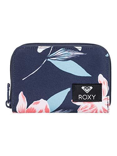 ROXY Damen Dear Heart-Portemonnaie mit Reißverschluss rundherum, Mood Indigo f Tandem, 1SZ