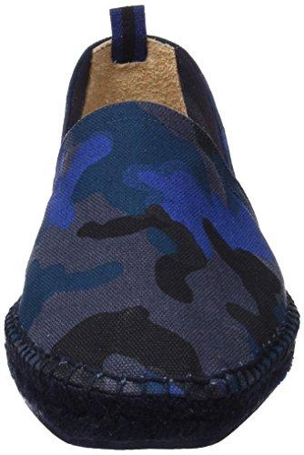 Castañer Herren Pablo Ss18004 Espadrilles Blau (Dark Blue)
