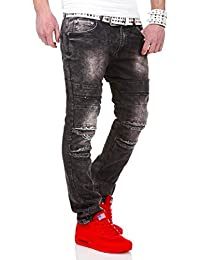 MT Styles Destroyed Jeans Slim Fit pantalon RJ-2056