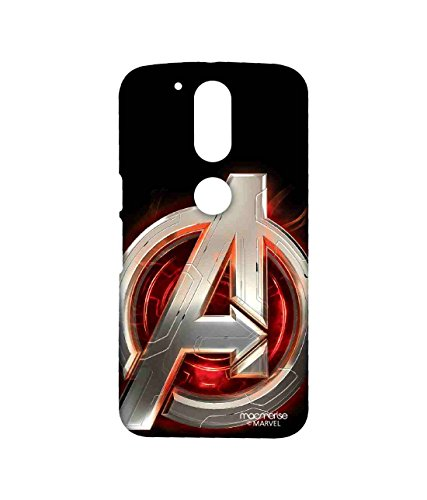 Licensed Marvel Comics Avengers Premium Printed Back cover Case for Moto G4 Plus