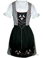 Vdi08 Dirndl, viele Modelle in verschiedenen Größen (32 - 52) und Farben, 3 teiliges Trachtenkleid Set, Kleid mit Bluse und Schürze