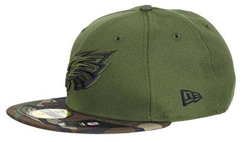 New Era - Philadelphia Eagles - New Era 59fifty Basecap - Rifle Green Collection - Green / Camouflage - 7 1/8 - 57cm (M)